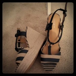 Coach wedge shoes 9m espadrilles